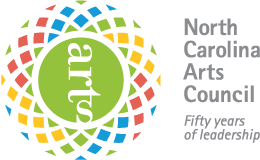 North Carolina Arts Council logo.